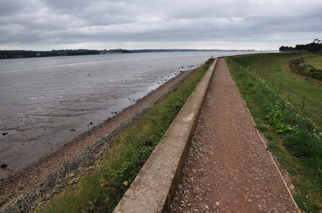 Teignbridge : The Exe Estuary & Footpath