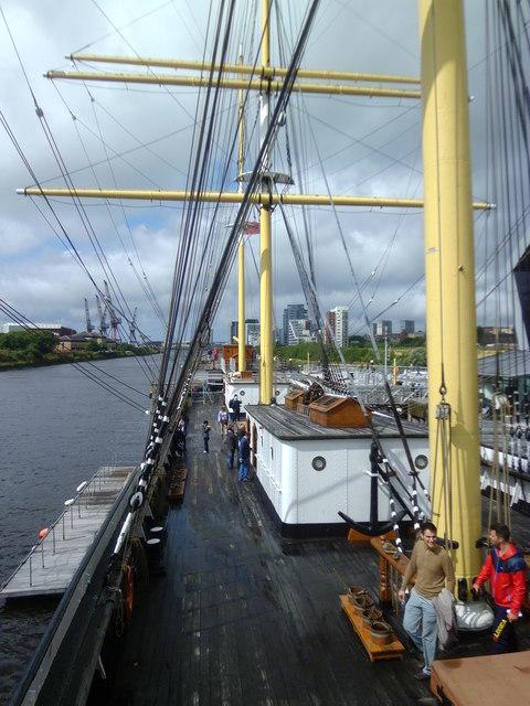 Aboard the Glenlee