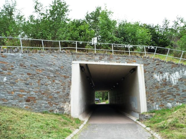 Tunnel under the Heads of the Valleys Road