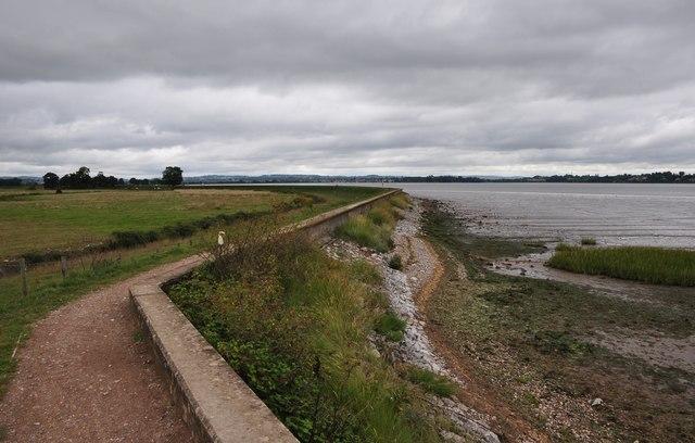 Teignbridge : The Exe Estuary & Footpath