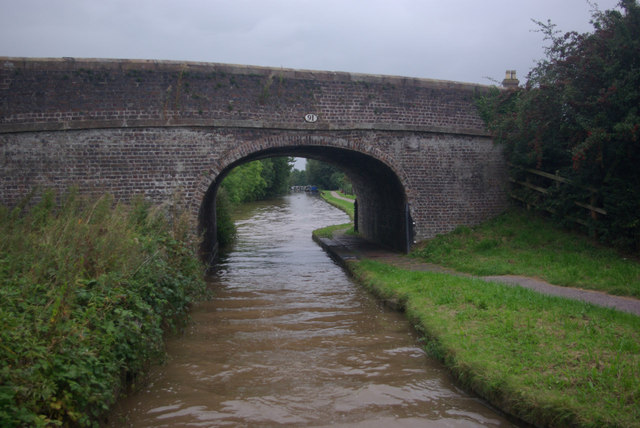 Marsh Lane Bridge, Shropshire Union Canal