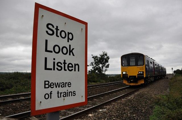 Teignbridge : Railway Track