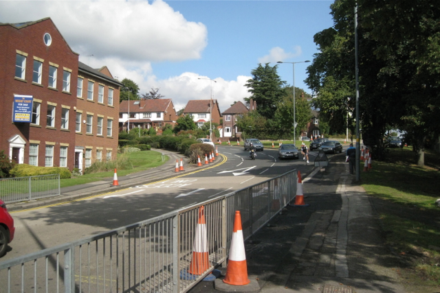 East leg of Queen Street section of town centre ring road
