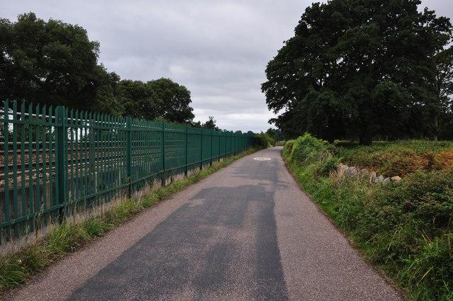 Teignbridge : Small Road