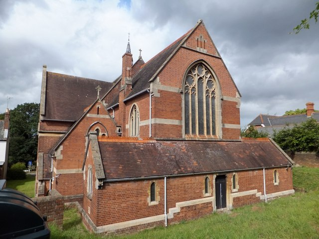 The east end of St Matthew's church, Exeter