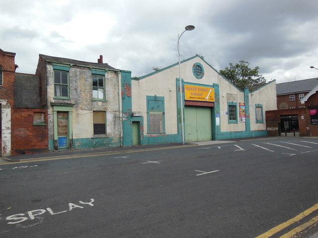 Baker Street Garage on Baker Street, Hull
