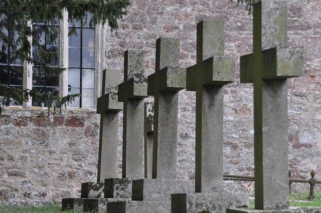 Powderham : Headstones