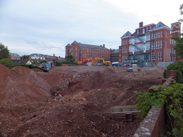 Development site, Dean Clarke House, Exeter