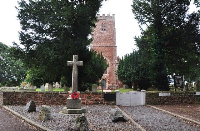 Powderham : St Clement's Church & War Memorial
