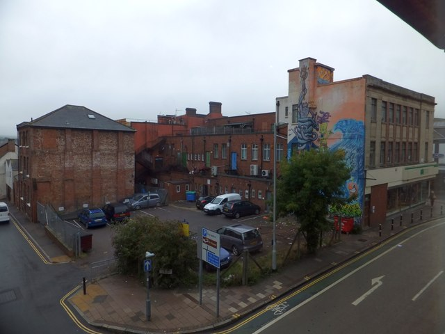 Private car park, Market Street, Exeter