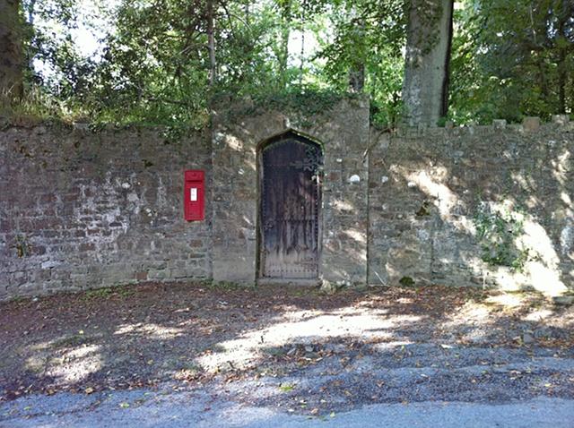 Church path to Hall