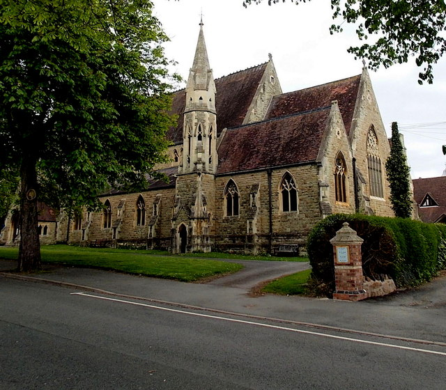 Eastern end of Christ Church, Malvern