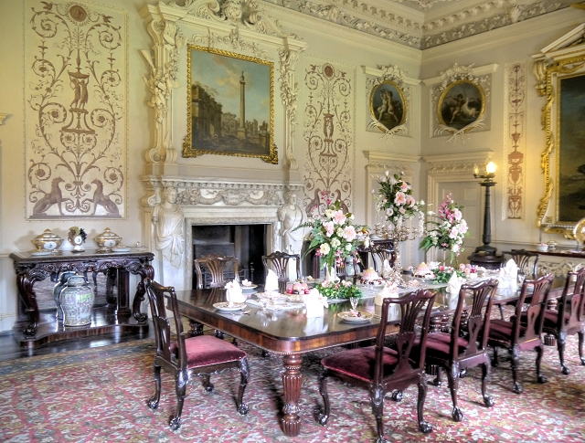 Nostell Priory, State Dining Room