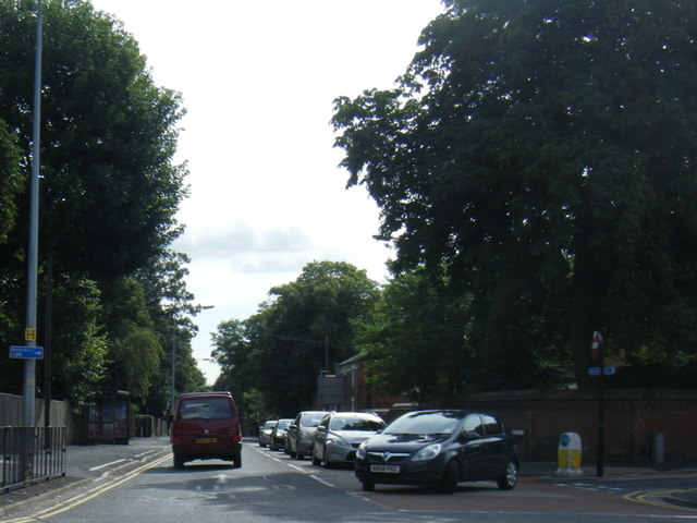Greetwell Road from Wragby Road