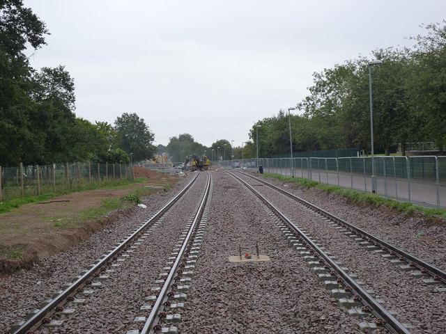 Tramway through Inham Nook