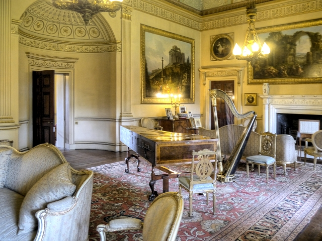 Nostell Priory, The Saloon
