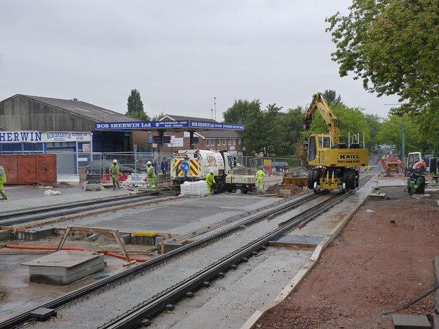 Near Clifton Centre tram stop
