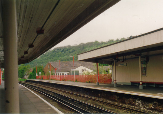 Whyteleafe station c1993