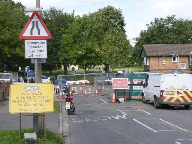 Cator Lane closed