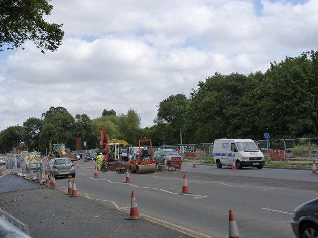 University Boulevard at Highfields Park