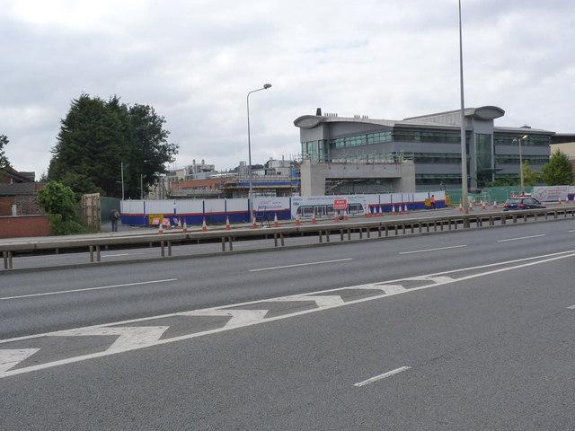 QMC viaduct works