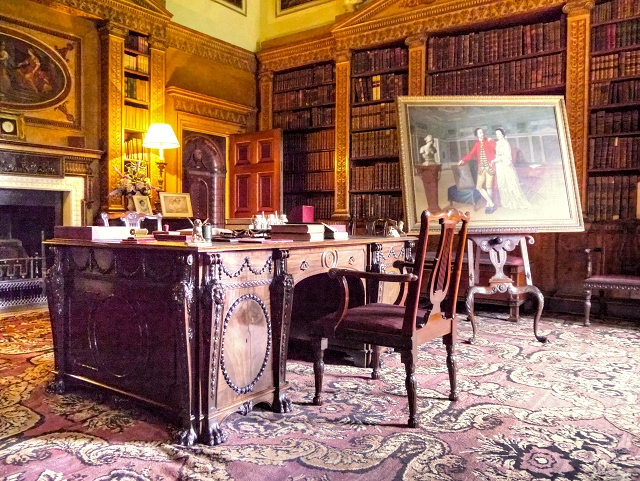 The Library, Nostell Priory