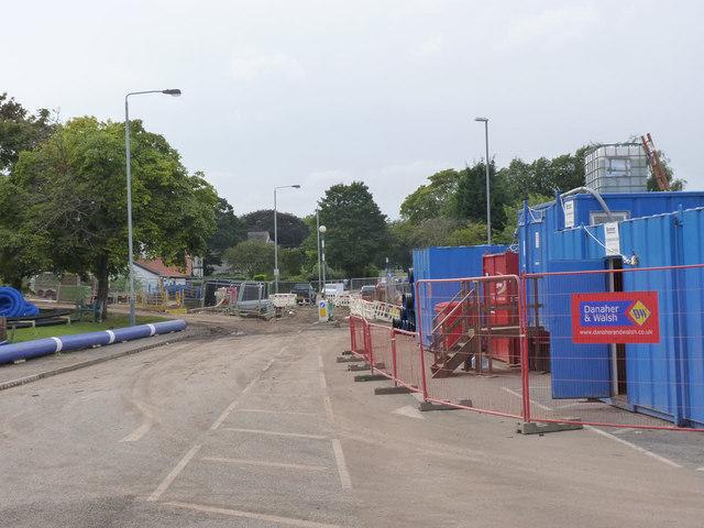Wilford Lane tramway crossing