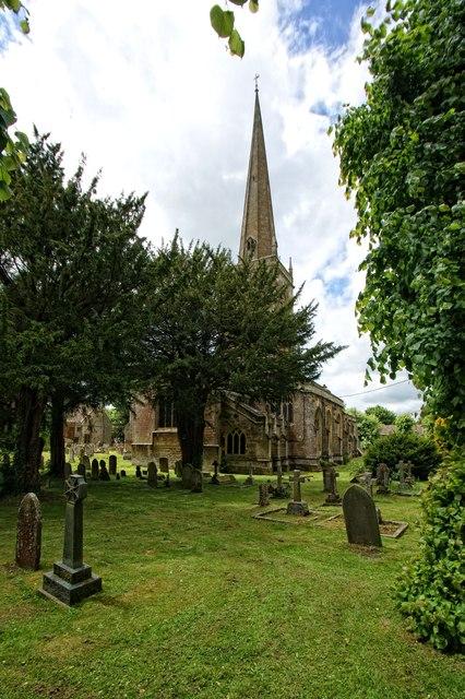 The Church of St John the Baptist, Burford
