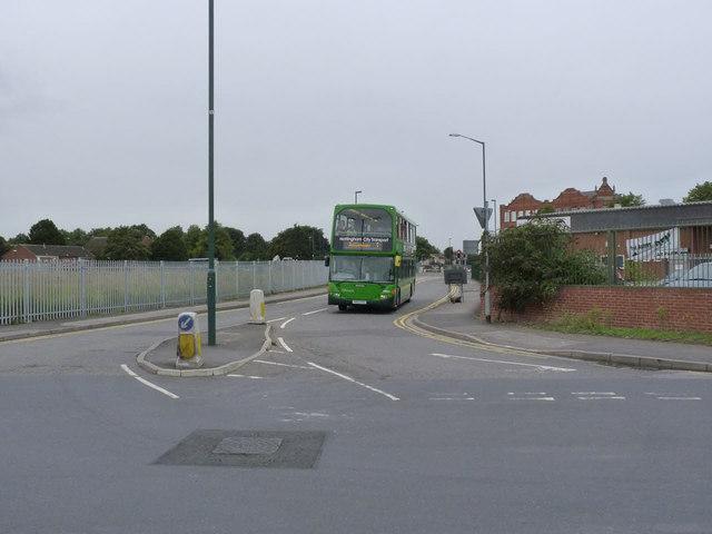 Bus service diversion, Crocus Street