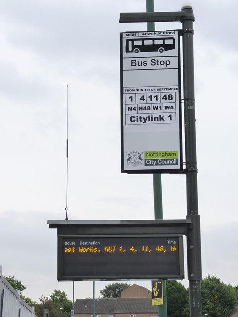 Bus service diversion