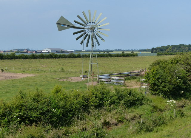 Wind pump on Kirton Marsh