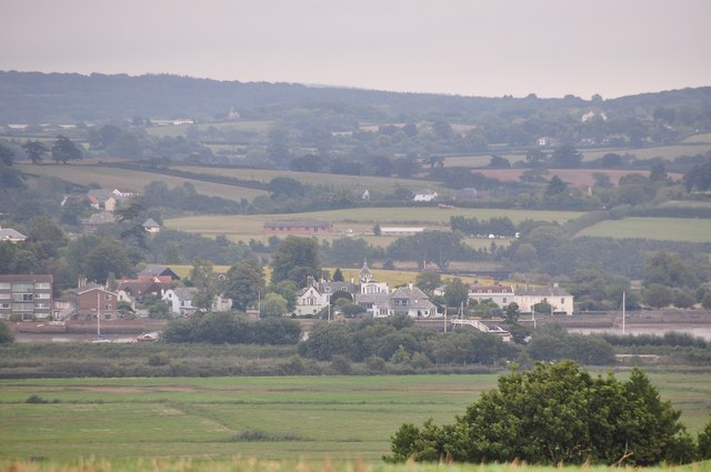 Teignbridge : Topsham Scenery