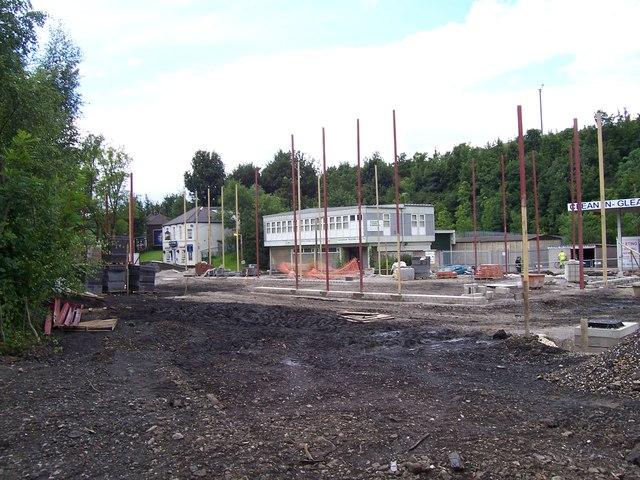 Building site on Blackburn Road