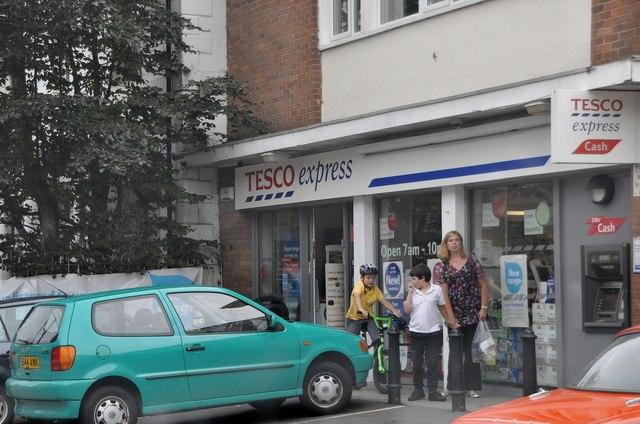 Exminster : Tesco Express
