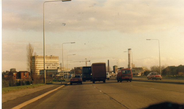 Sterling Way, Edmonton in 1980s