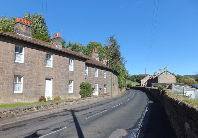Housing on the B6341