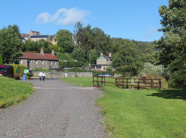 Riverside walk, Rothbury
