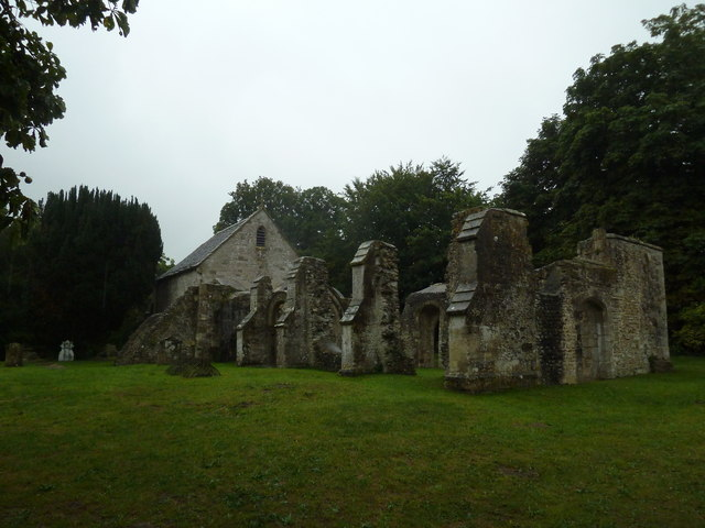 St Leonard Old Church, Sutton Veny: September 2013