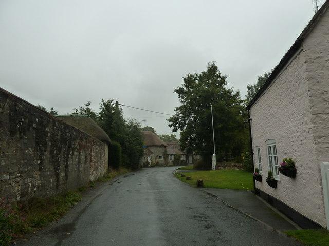 Rush hour in  Sutton Veny