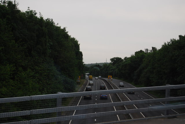 A21, looking south