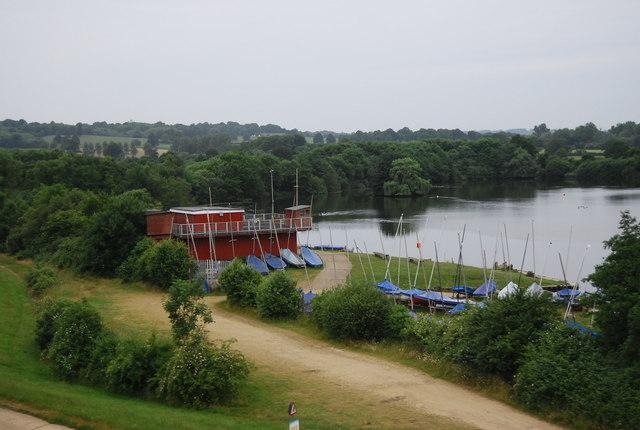Sailing club, Haysden Lake