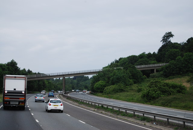 A21, Hubbard's Hill Bridge