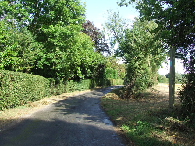 Footpath Off Country Lane