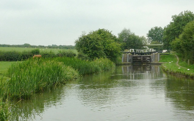 Grand Union Canal north-east of Fleckney, Leicestershire