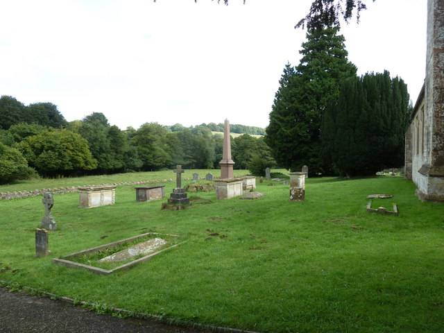 All Saints, Dunkerton: churchyard (a)