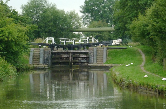 Kibworth Second Lock north-east of Fleckney, Leicestershire