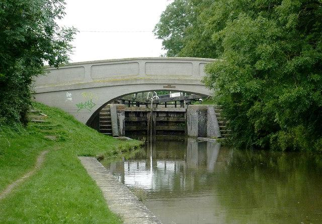 Kibworth Bridge north-east of Fleckney, Leicestershire