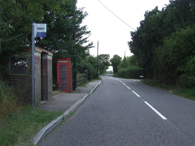 Bus Stop And Telephone Box