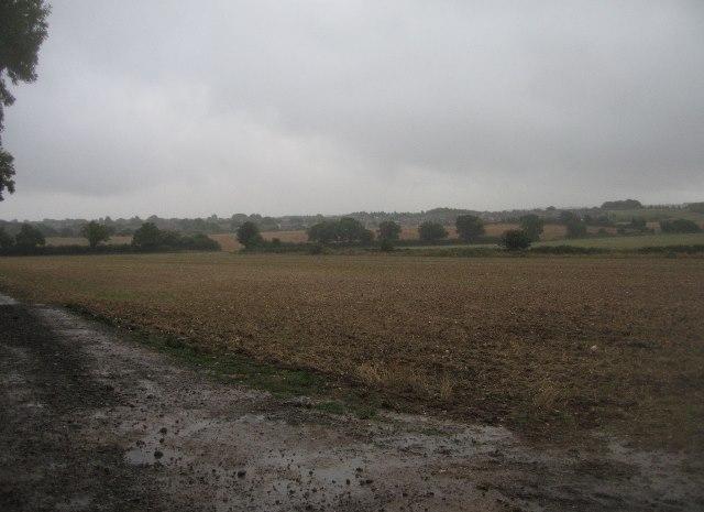 Stormy skies over Basingstoke