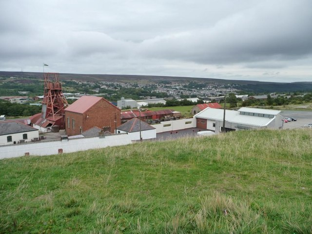 South-east part of the Big Pit site